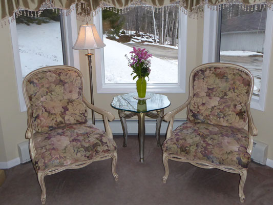 Room 5 Chairs in Bay Window